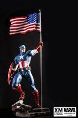 PREMIUM COLLECTIBLES: CAPTAIN AMERICA STATUE (Comic Version) - Sold Out