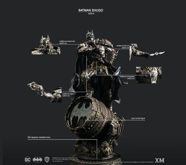 XM 1/4 Batman Shugo Ver A (Samuria) - ES 499 Max (Pre Order)