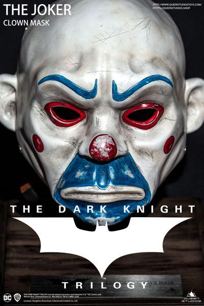Queen Studios Joker-Clown Mask Life size (Pre Order)