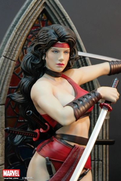 PREMIUM COLLECTIBLES: ELEKTRA STATUE Comic Ver. (Price in HKD)