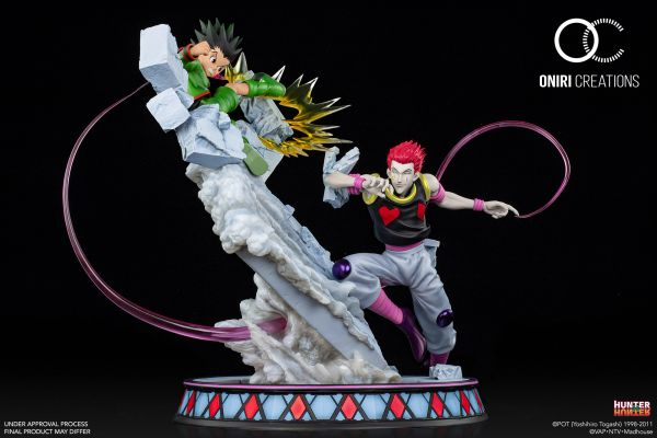 Oniri Creation 1/6 HxH GON VS HISOKA – BATTLE AT THE HEAVENS ARENA (Sold out)