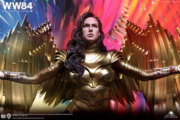Queen Studios 1/4 Wonder Woman Golden Eagle Armor Premium Edition <2 heads> (Pre Order)