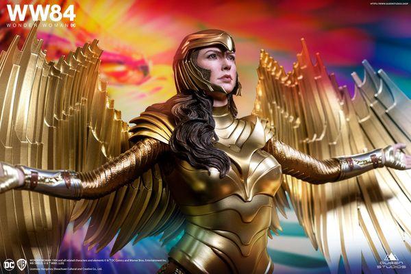 Queen Studios 1/4 Wonder Woman Golden Eagle Armor Standard Edition (Pre Order)