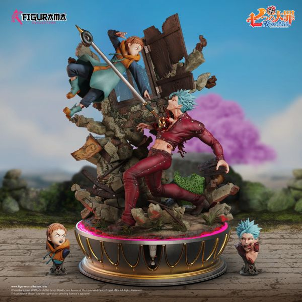 Figurama 1/6 Seven Deadly Sin: Ban vs King (Sold out)
