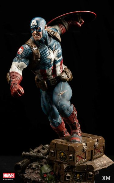 XM 1/4 Ultimate Captain America Ver A (Pre Order)