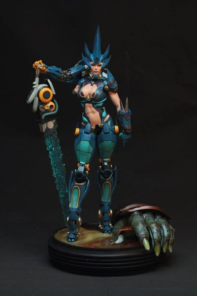 "HMO's Bounties of Bathos – 1/4 SORROW – ""The Aqua Knight"" (In stock) ES 200"