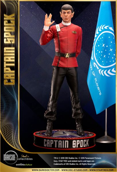 Darkside Collectibles Studio 1/3 EXCLUSIVE LEONARD NIMOY AS CAPTAIN SPOCK (Pre Order)