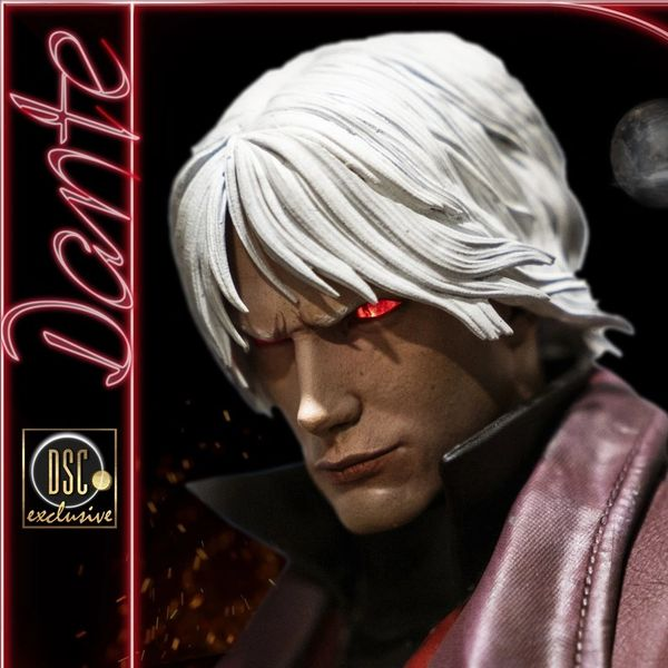 Darkside Collectibles Studio 1/4 DANTE EXCLUSIVE DEVIL MAY CRY 1 PREMIUM STATUE (Pre Order)