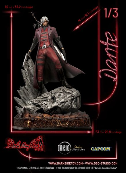 Darkside Collectibles Studio 1/3 DANTE MASTER EDITION DEVIL MAY CRY PREMIUM STATUE (Pre Order)
