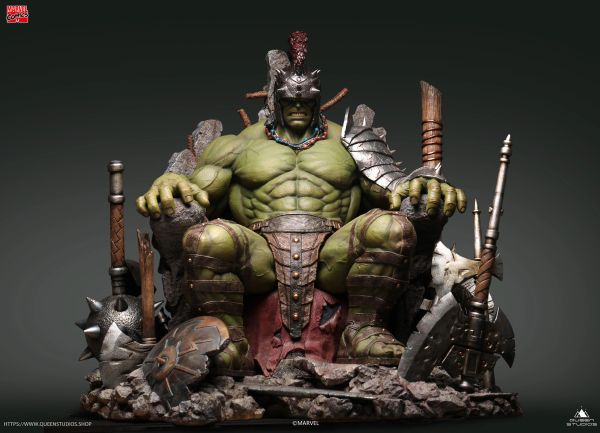 Queen Studios 1/4 Green Scar Hulk Statue Premium (Pre Order)
