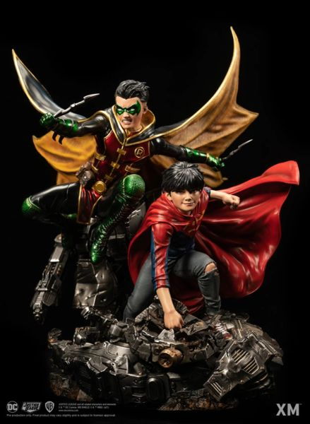 XM 1/6 Super Sons - Rebirth w/Plaque (Pre Order)