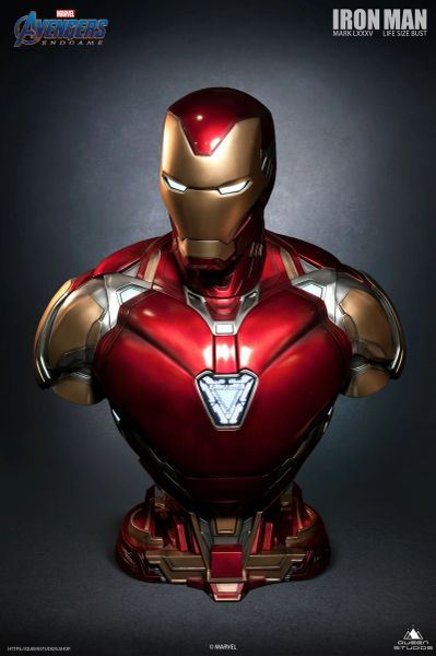 Queen Studios 1/1 Iron Man Mark 85 Life-size Bust (Pre Order)