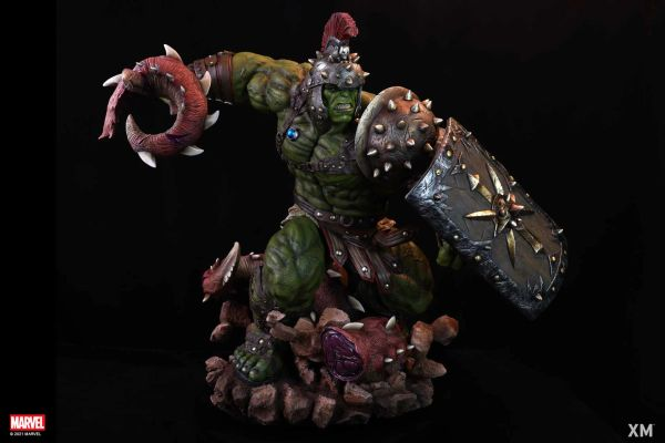 XM 1/4 Planet Hulk w/plaque (Pre Order)
