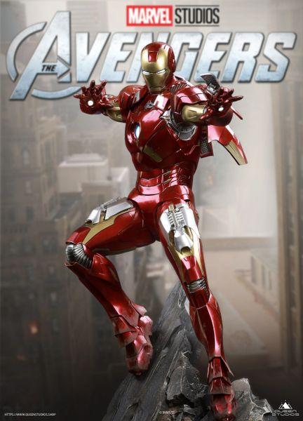 Queen Studios 1/4 Ironman MK 7 (Pre Order)