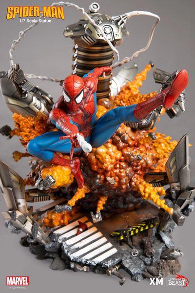LBS X XM 1/7 Spider-Man (Impact Series) Ver B (Pre Order)