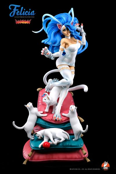 HMO 1/4 Darkstalkers Felicia (White & Black) Ultimate Set - Sold out