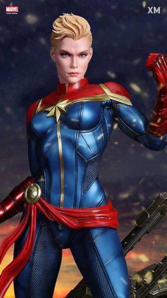 XM 1/4 Captain Marvel w/Plaque (Pre Order)