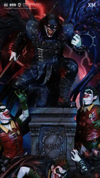 XM 1/4 The Batman Who Laughs w/plaque (Pre Order) <Procurement Service> ES666