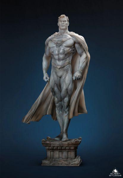 Queens Studio MUSEUM LINE SUPER MAN 1/4 STATUE (Pre Order)