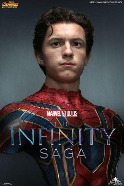 Queens Studio 1/1 Iron Spider-Man Life-size Bust (Pre Order)