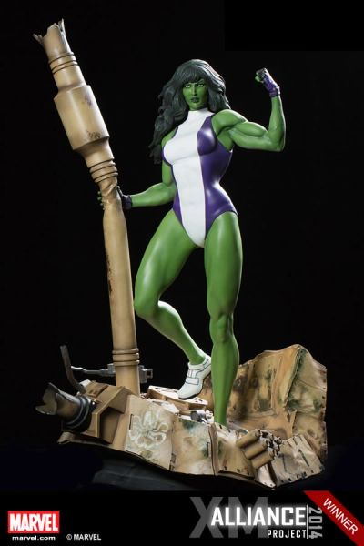 PREMIUM COLLECTIBLES: SHE HULK STATUE (COMICS VERSION) - <Price in HKD>