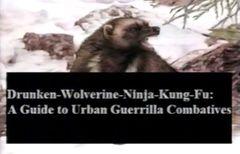 Drunken Wolverine Ninja Kung-fu DVD