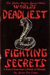 Special Shadow Warrior Edition Worlds Deadliest Fighting Secrets: A Study of Count Dante's Methods & Philosophy
