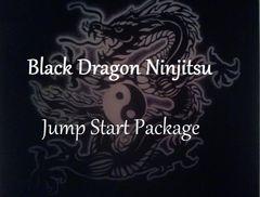 Black Dragon Ninjitsu Home Study Course Jump Start Package