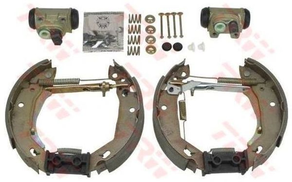 NEW LUCAS/TRW GSK1057 SHOE Brake Kit FOR RENAULT CLIO 1991-1998