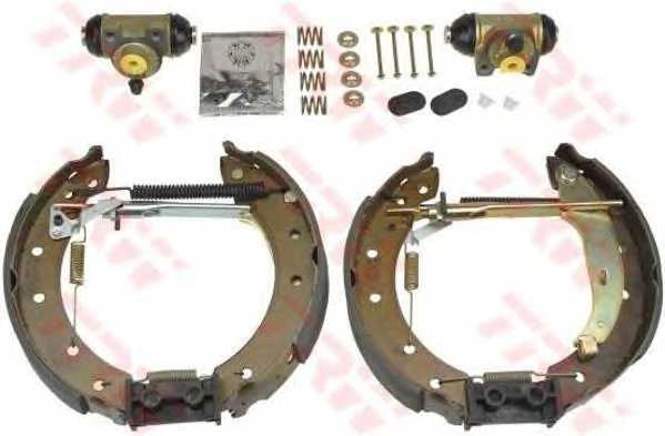 NEW TRW GSK1058 SHOE Brake Kit for RENAULT CLIO (1998-2008)