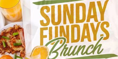 SUNDAY BRUNCH 12 noon to 7pm
