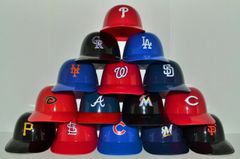 Complete Set of (15) National League Sundae Helmets (free shipping)
