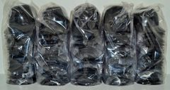 Blank Black Lot of (100) Ice Cream Sundae Helmets (free shipping)