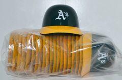 Oakland A's (20) Ice Cream Sundae Helmets (free shipping)