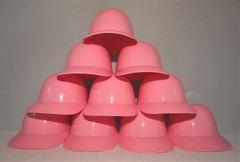 Blank Pink (10) Ice Cream Sundae Baseball Helmets (free shipping)