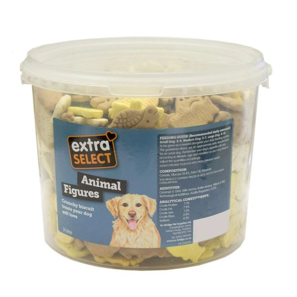 *ONLINE ONLY* Extra Select Animal Figures Dog Biscuits