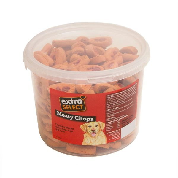 *ONLINE ONLY* Extra Select Chops Dog Biscuits
