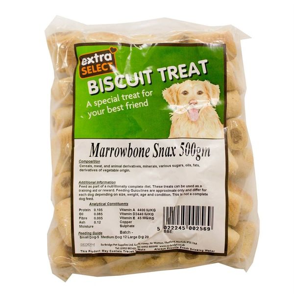 {LIB}*ONLINE ONLY* Extra Select Marrowbone Snax Dog Biscuits