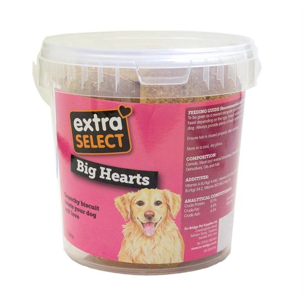 *ONLINE ONLY* Extra Select Big Hearts Dog Biscuits