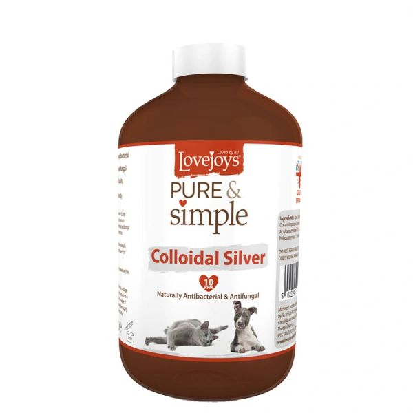 *ONLINE ONLY* Lovejoys Pure & Simple Colloidal Silver Solution 250ml