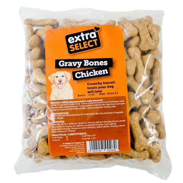 {LIB}*ONLINE & INSTORE* Extra Select Chicken Gravy Bones 500g
