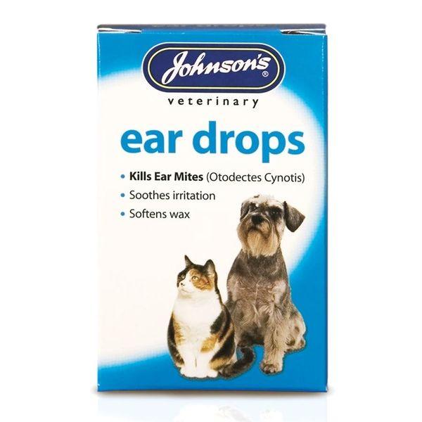 *ONLINE & INSTORE* Johnsons Veterinary Ear Drops 1 x 15ml