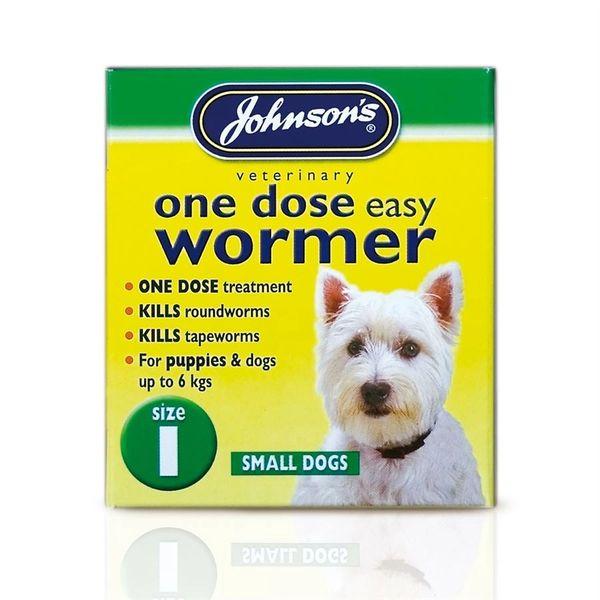 {LIB}*ONLINE & INSTORE* Johnsons Veterinary One Dose Easy Wormer
