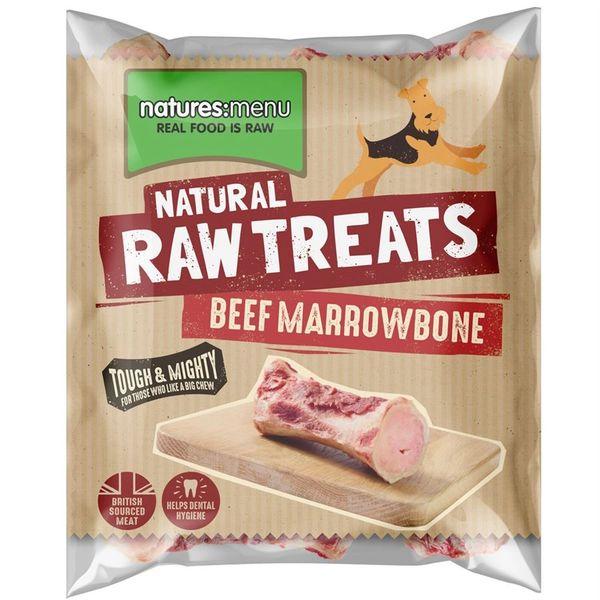 *ONLINE EXCLUSIVE* Natures Menu Frozen Raw Treats Beef Marrowbone