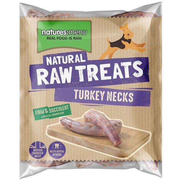 *ONLINE EXCLUSIVE* Natures Menu Frozen Raw Treats Turkey Necks