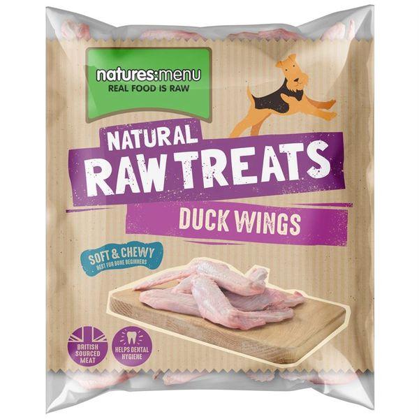 *ONLINE EXCLUSIVE* Natures Menu Frozen Raw Treats Duck Wings