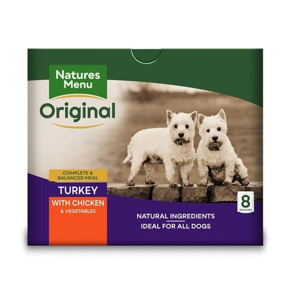 {LIB}*ONLINE & INSTORE* Natures Menu Adult Turkey Pouches