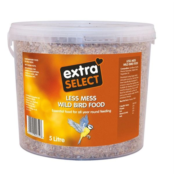 *ONLINE ONLY* Extra Select Less Mess Wild BIrd Feed Bucket 5 Litre