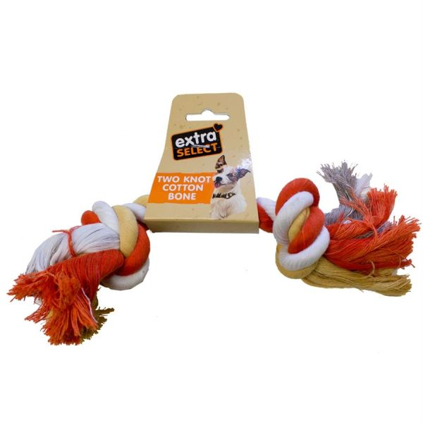 *ONLINE ONLY* Extra Select Knotted Cotton Bone Toy