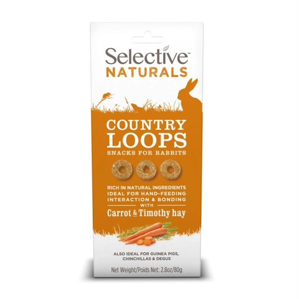 *ONLINE & INSTORE* Selective Naturals Country Loops 80g